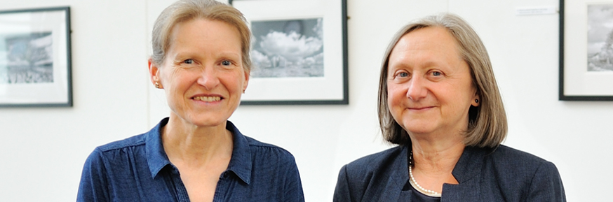 Professor Jane Taylor and Dr Jennie Gilbert, Senior Fellows of the Higher Education Academy